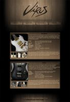 VIRUS guitars .website by archetype-it