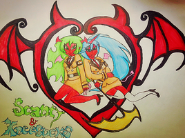Scanty and Kneesocks by Nikki-Nyan-Cat