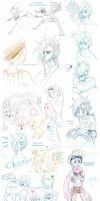 traditional sketchdump march 2012 by blackwinged-neotu
