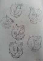Vacation Doodles 1 - a lot of Leibi's by Leibi97