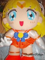 Sailor Venus World DX plush by DeepblueIchigo