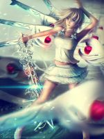 NAMINE DEAD FANTASY - Kingdom Hearts by Eddy-Shinjuku