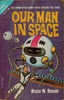 Our man in space by Robby-Robert