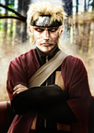Naruto Sage real style by Shibuz4