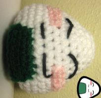 Onigiri Amigurumi Prototype by ManifestedDreams