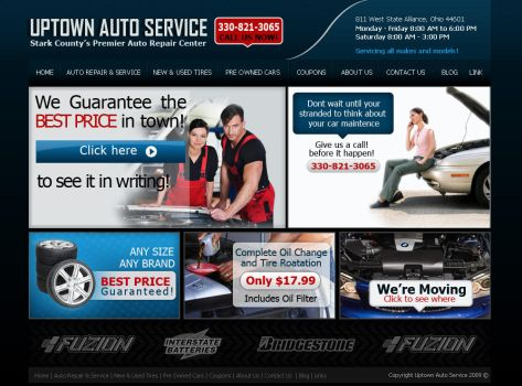 uptown autoservice by mcarts