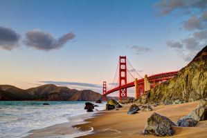 Golden Gate Bridge HDR by LifeCapturedPhoto