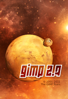 GIMP Splash Screen 09 by slybug