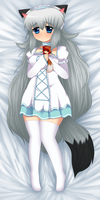 ~ Ivory hug pillow ~ by Blushily