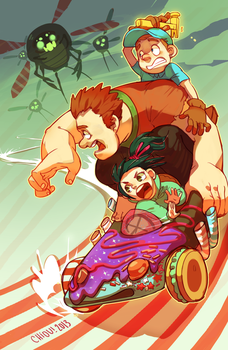 wreck it by chiou