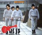 The Monkees And Clockwork Orange Droogs Mash Up by EspioArtwork31