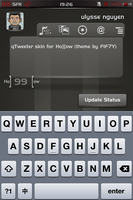 qTweeter skin for HOLLOW by ulysseleviet