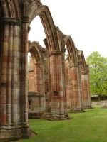 STOCK-MELROSE ABBEY II by IRAtheIV