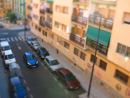 Nava del Rey Tilt-Shifted by Th3Zephyr