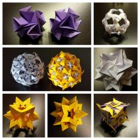 Kusudama Collection by Anice105