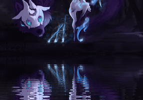 Kindred - The Eternal Hunters by FirePheonyx