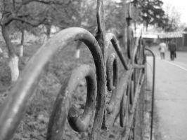 graveyard fence by AnaLuiza