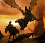 The Dragon Rider by JonathanGragg