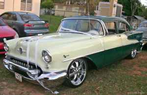 '55 Oldsmobile Super 88 sedan by Mister-Lou