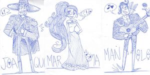 The Book of Life Sketch by NEOmi-triX
