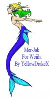 Mer-Jak for Weiila by yellowdrakex