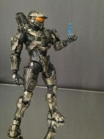 Play Arts Kai - Halo 4 - Master Chief w/ Cortana by 0PT1C5