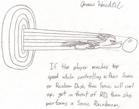 Sonic Rainboom Squared by GrizzlyJames