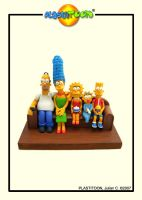 LOS SIMPSON by plastitoon