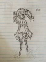 Ene Sketch by featherpenguins