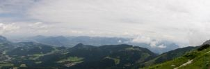 Moutains panorama 2 by archaeopteryx-stocks