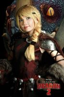 How to train your dragon 2 - Astrid by nyaomeimei