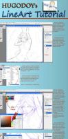 Lineart Tutorial by Hugodoy
