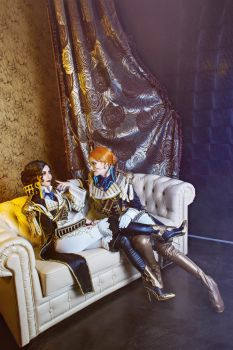 Trinity Blood. Flirt by MarionetteTheatre