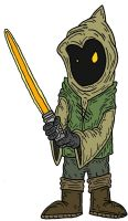 Jedi Jawa by Lordwormm