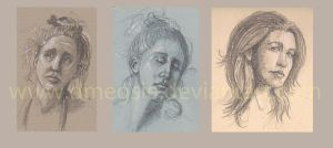 Face Studies 2011 by DMMegsie