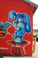 Blue rabbit - Kampagnarts2014 by YoulDesign