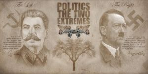 The extremes of politics by erikbarker