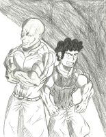 Johnathan and Alberto The Brothers by amayo006