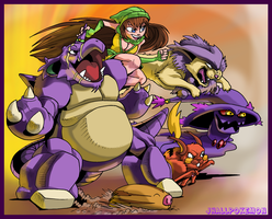 Team Purple by JHALLpokemon