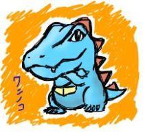 Just a totodile by santiw93