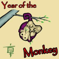 Request: Year of the Monkey by JesterCapp