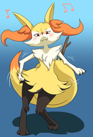 Braixen by Danimarion