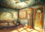 WtOT : Detective Office Concept Art : 2 by ExiledChaos