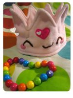 Pink Kickass Crown by kickass-peanut