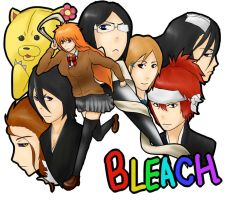 sex-change BLEACH by HoshidukiMamoru