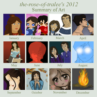 Summary of Art  2012 by the-rose-of-tralee