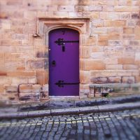 Purple Door by RichardGeorgeDavis