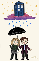 Doctor Who -Rain Drops- (updated) by Heza-chan