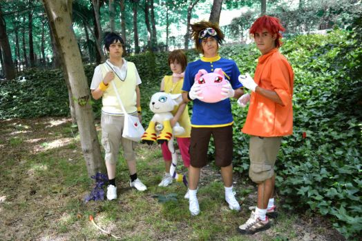 Digimon cosplay by LenaleeDokuro