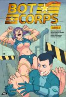 BOT CORPS #4 Cover Art by MTJpub